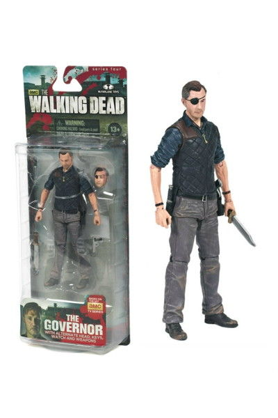 Walking Dead TV Series 4 Governor Action Figure FEB138481SINGLE