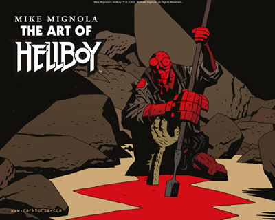 Hellboy: Art of Hellboy :: Desktops :: Dark Horse Comics