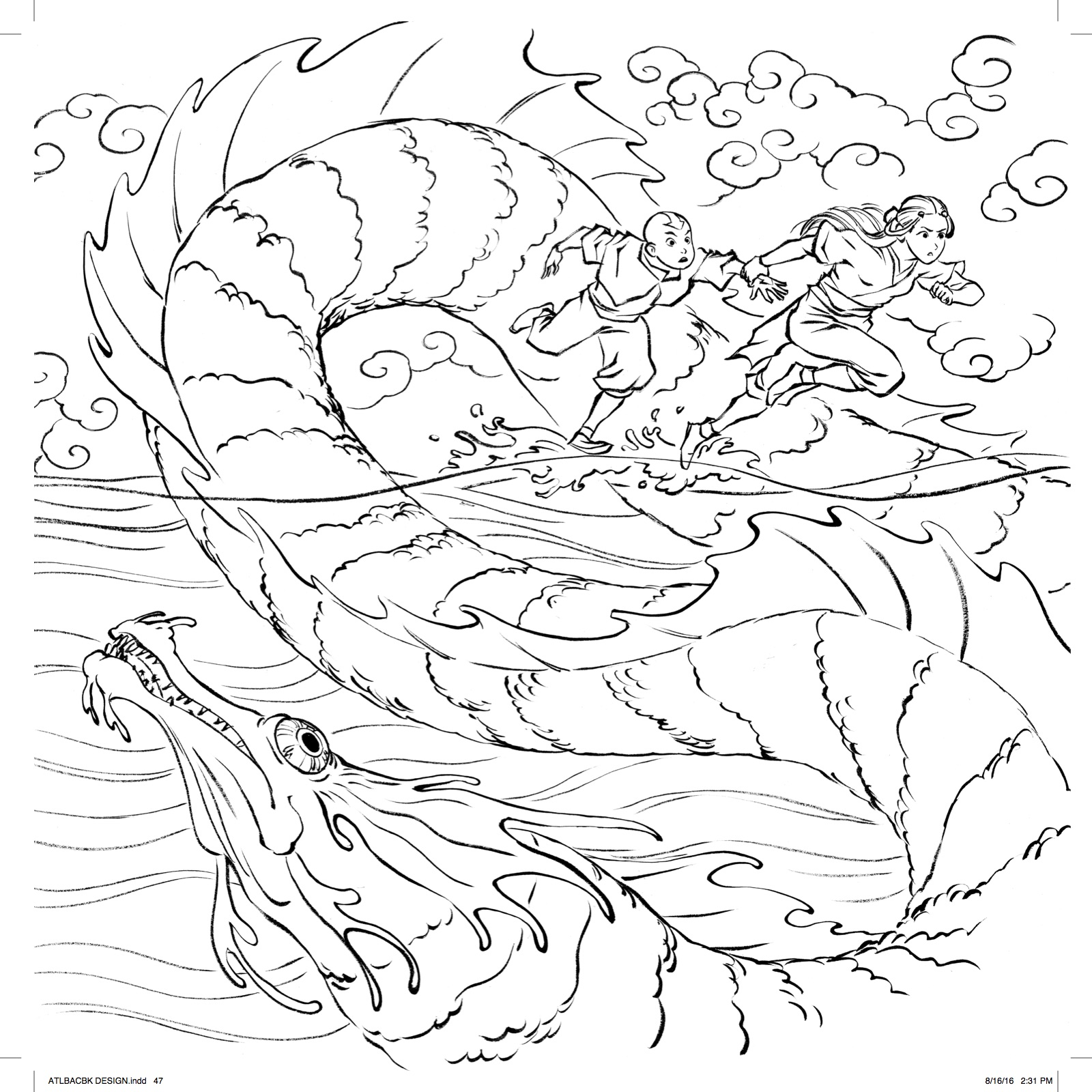 Planes 2 coloring pages - Avatar Month 2016 Coloring Contest