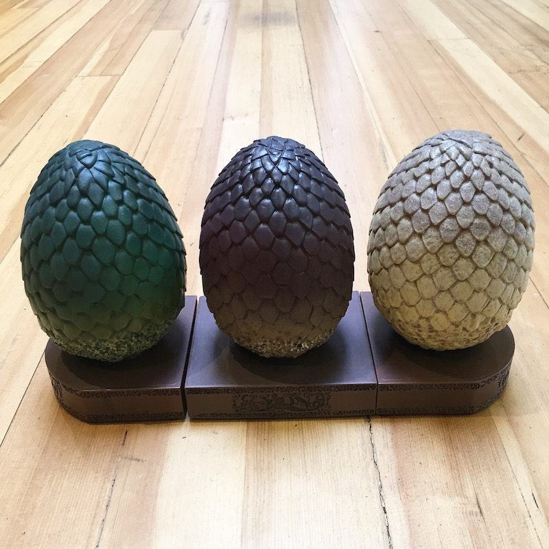 Game Of Thrones Dragon Egg Bookends Sweepstakes Blog Dark
