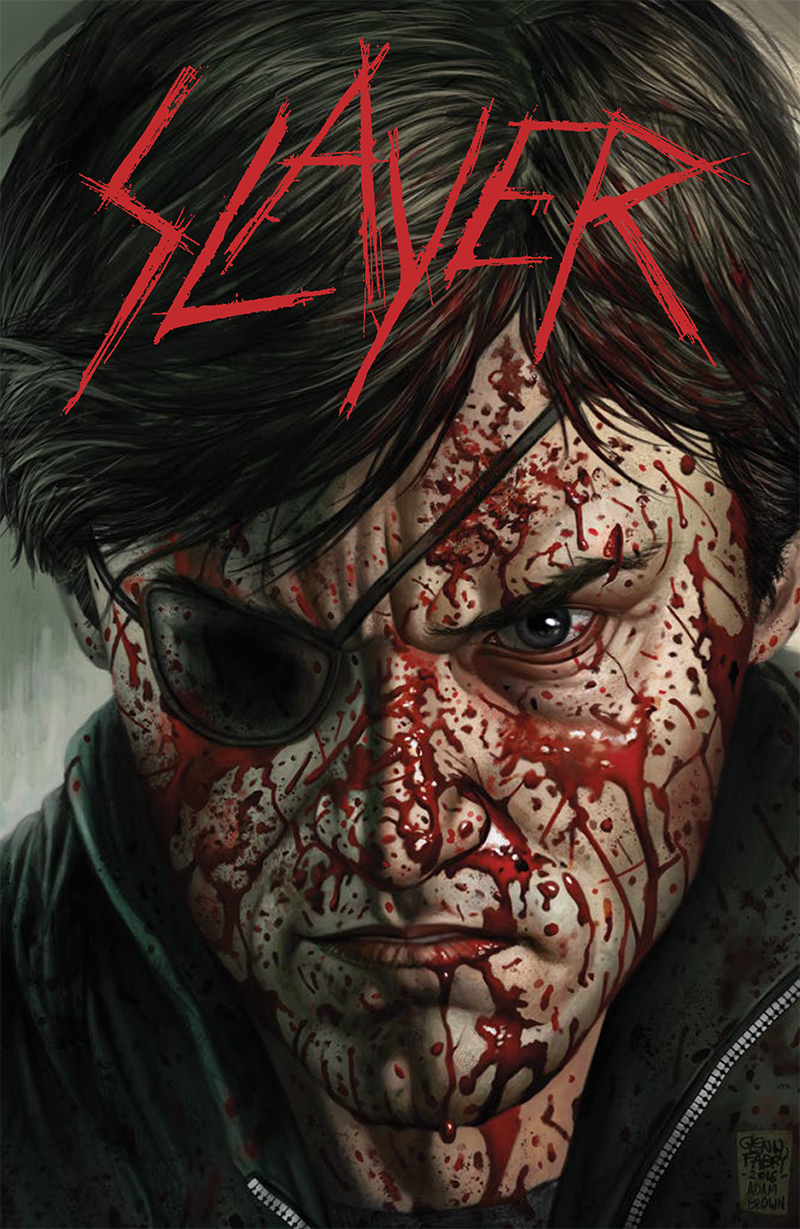 Sdcc 2016 Dark Horse Comics And Slayer To Release Comic