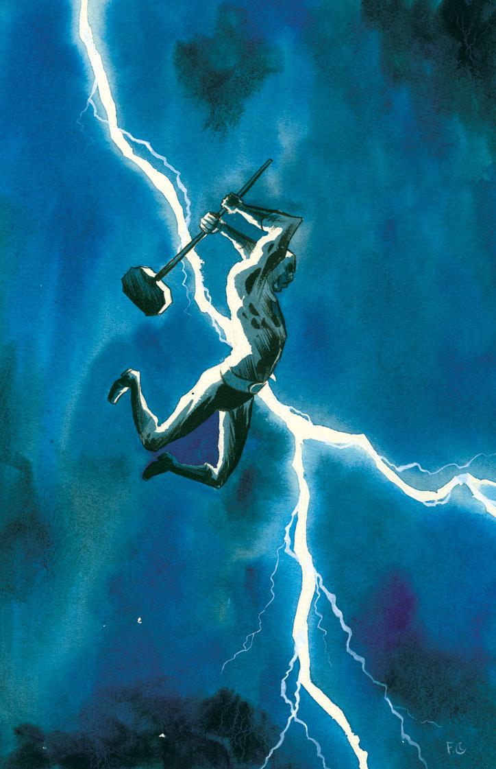 The Eisner Award Winning Comic Book Saga Black Hammer Returns In