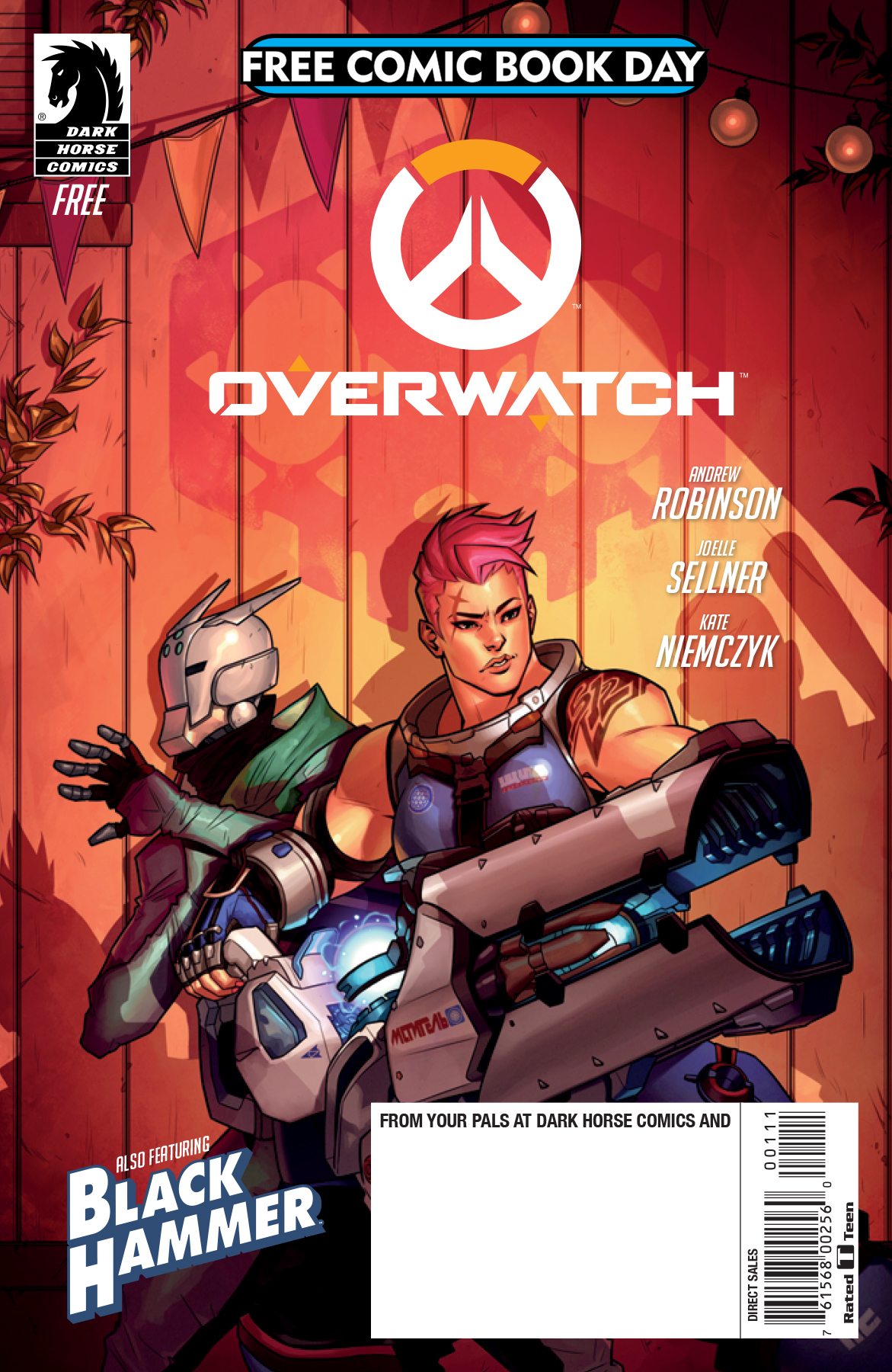 Image result for free comic book day zarya searching