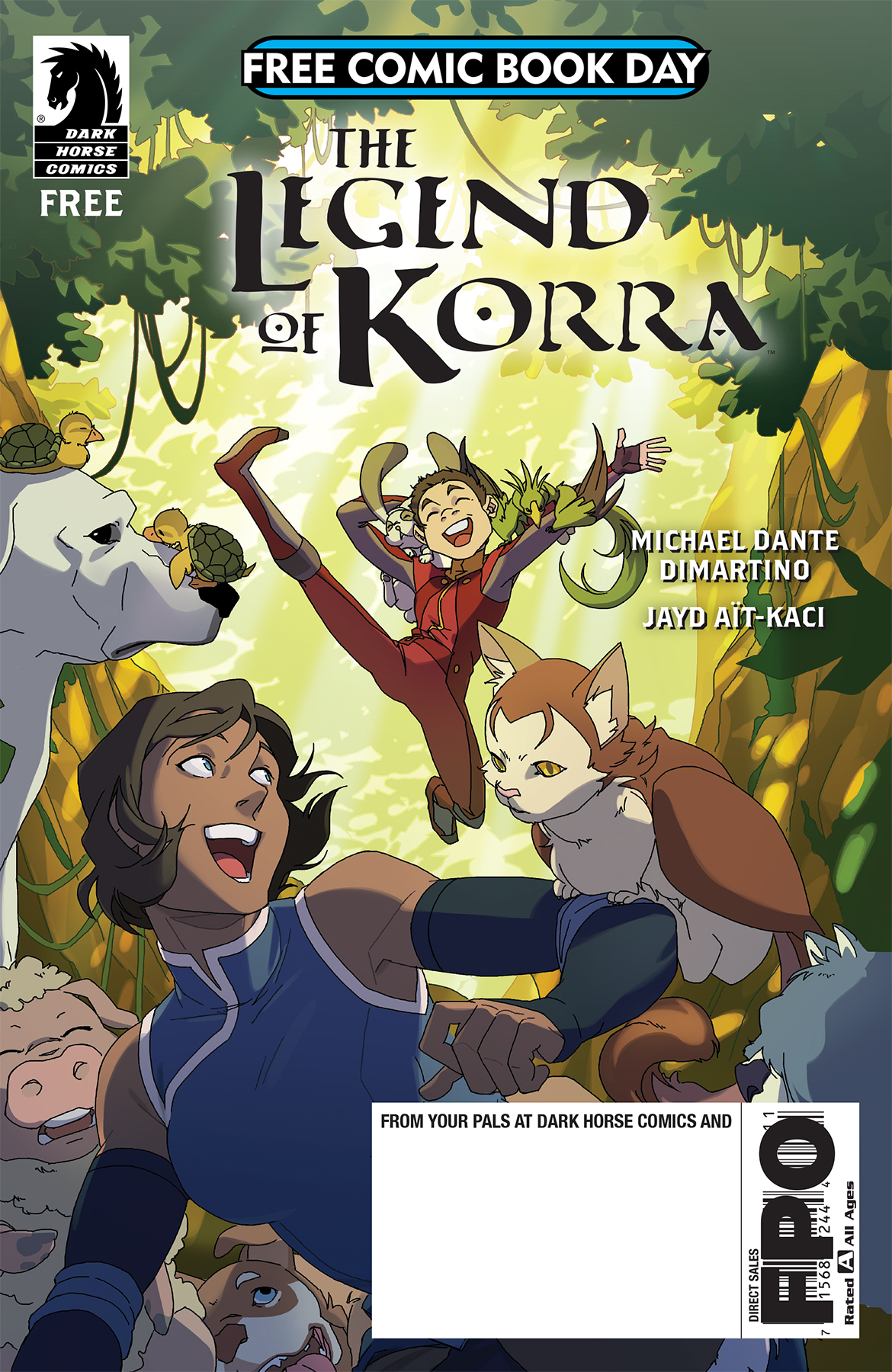 2018 free comic book day silver offering features korra and