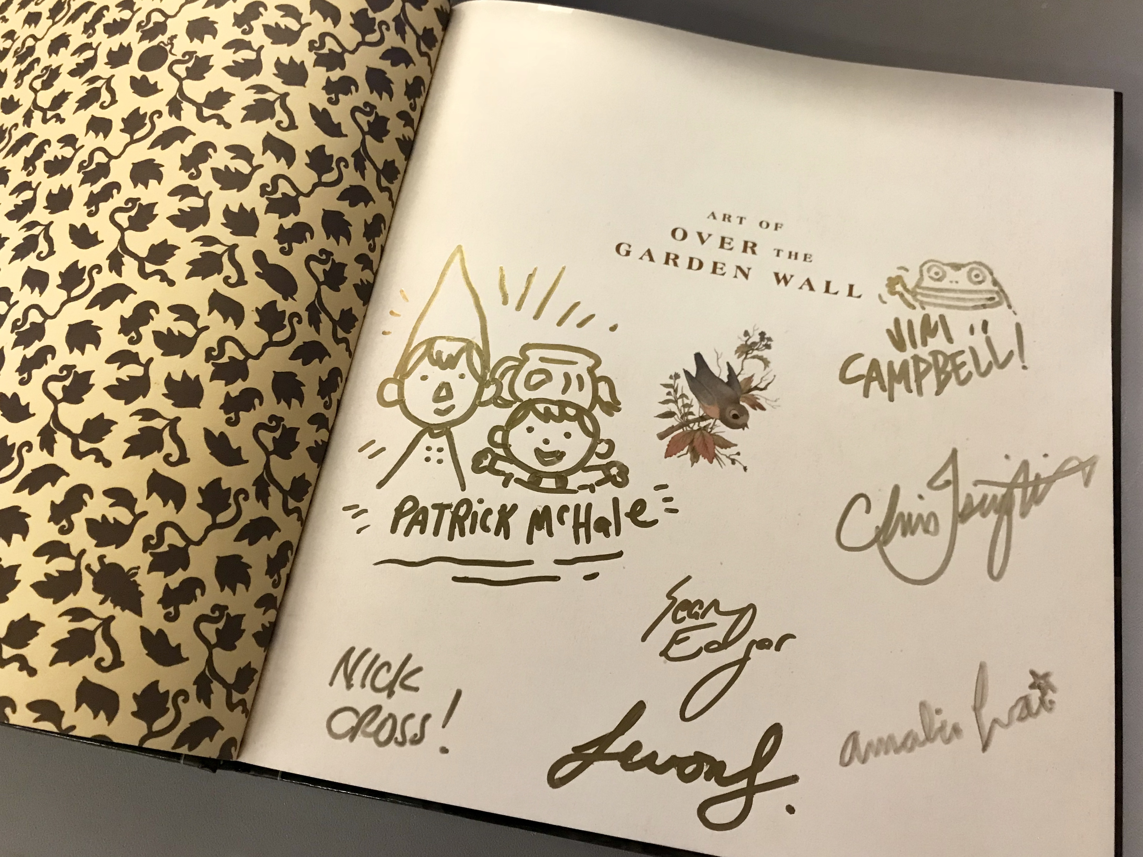 Retweet To Win The Art Of Over The Garden Wall Signed By Creative