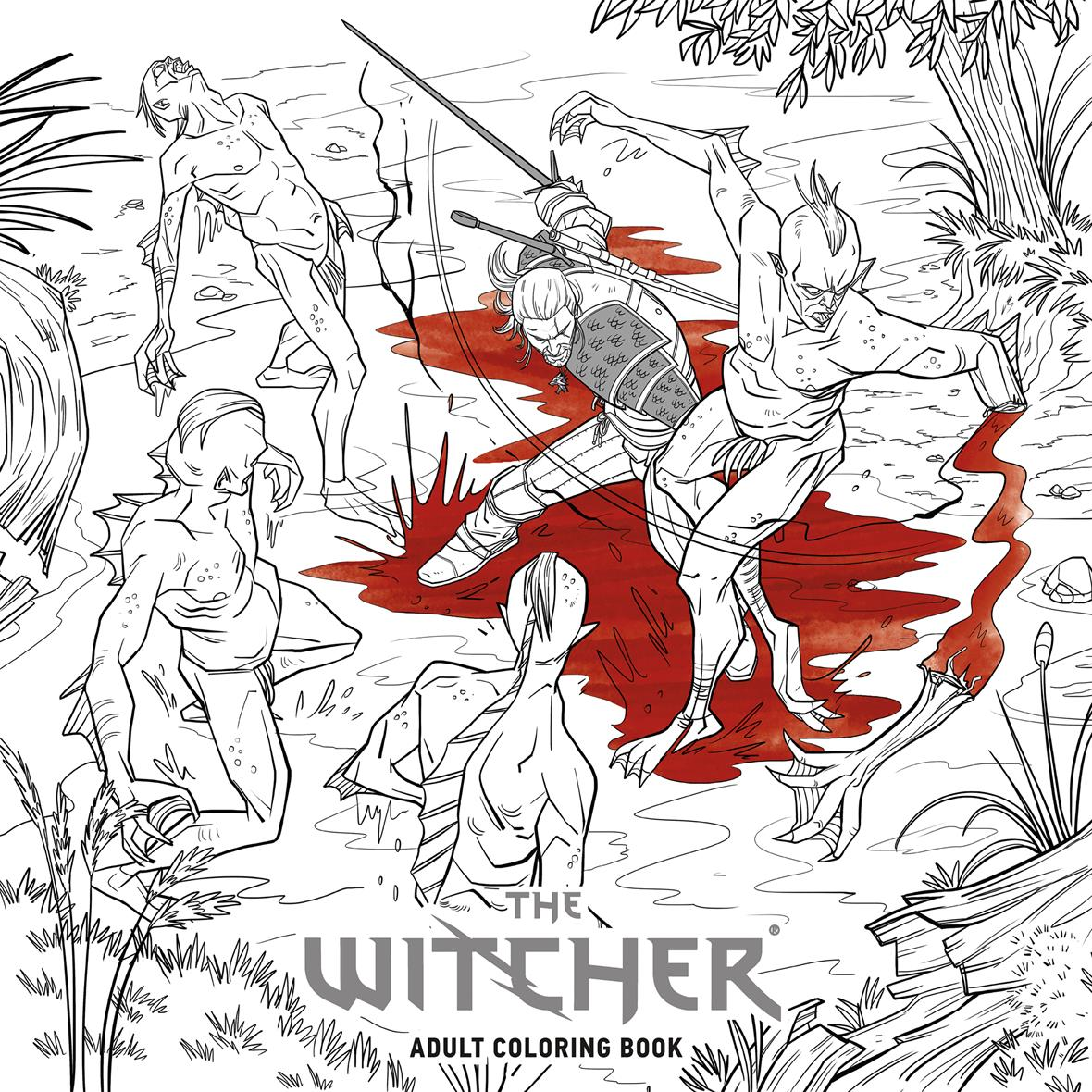 Leave Your Mark On The World Of The Witcher Blog The Colouring Book