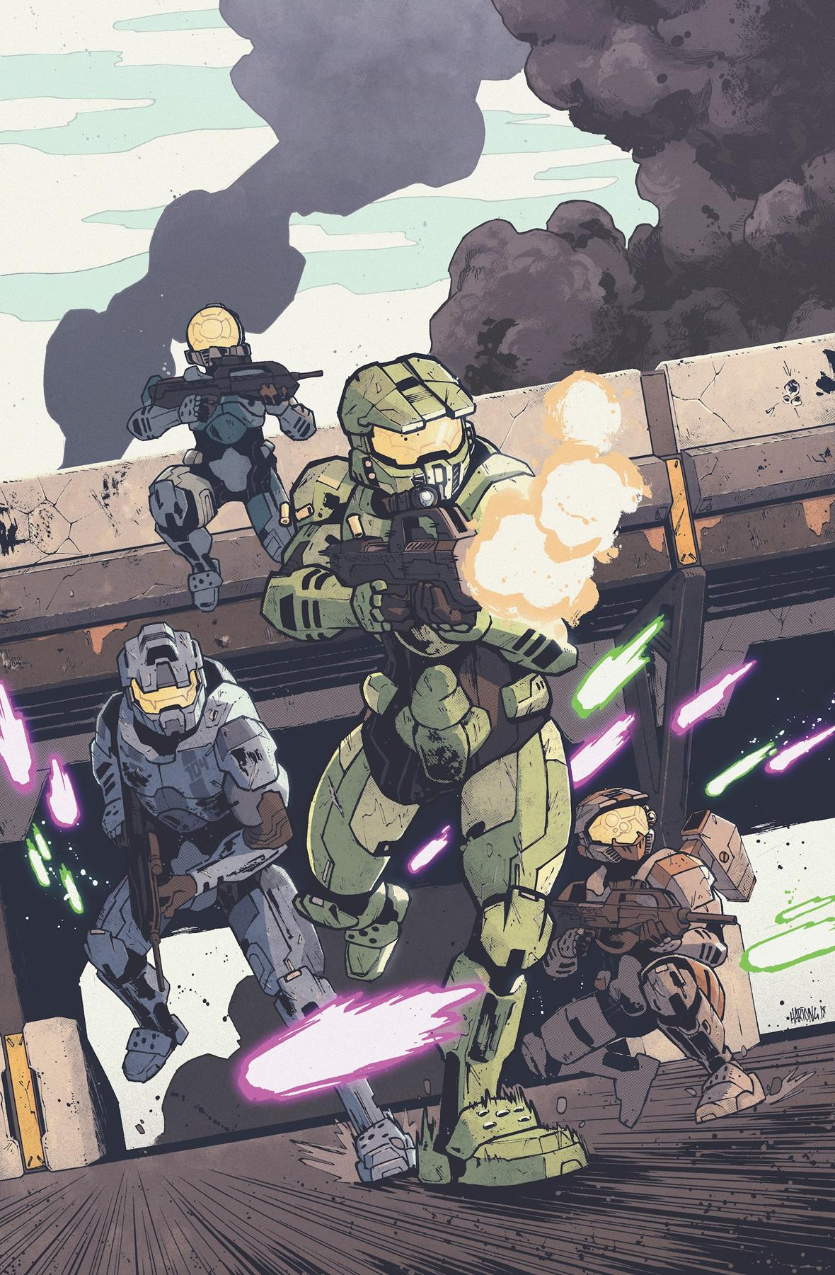 Dark Horse and 343 Industries Deploy New Halo Miniseries ...  Dark Horse and ...