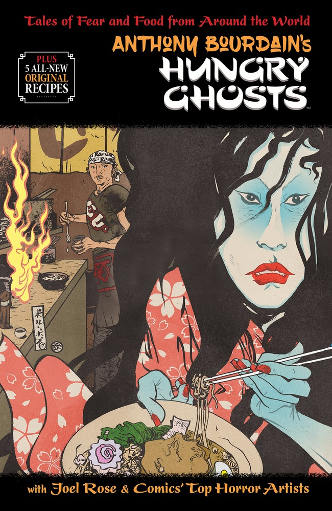 NYCC 2018: Dark Horse Releases New Anthony Bourdain Recipe Featured
