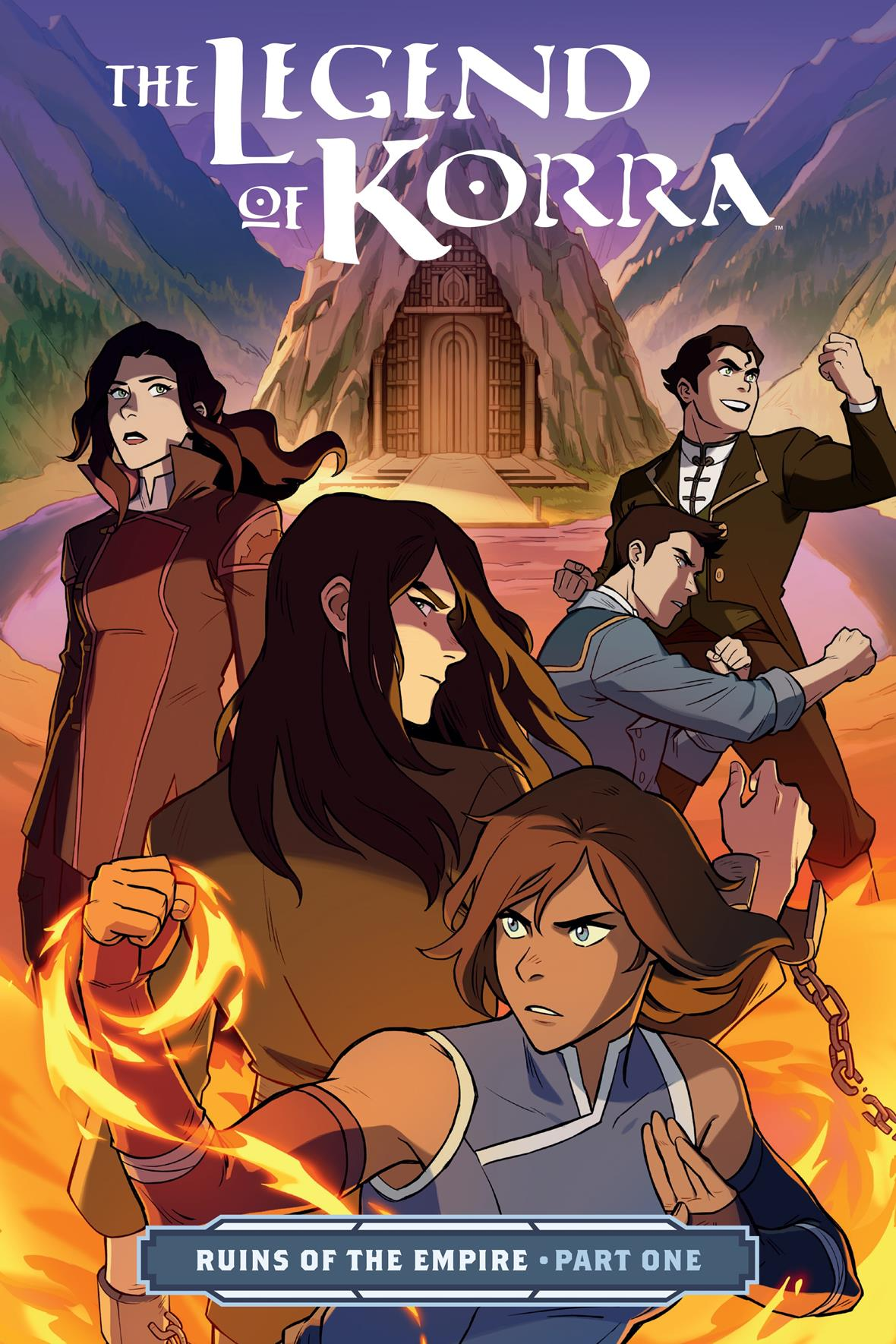 Legend of Korra: Ruins of the Empire