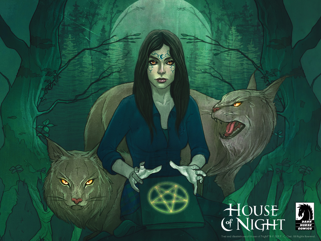House of night desktops dark horse comics for Housse of night