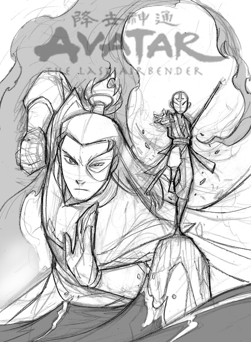 making of a cover avatar the last airbender blog dark