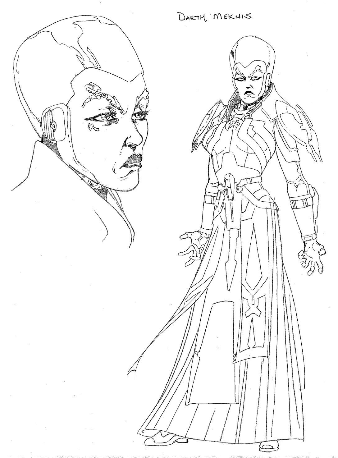 Star Wars Friday The Old Republic Character Sketches  Blog  Dark Horse Comics