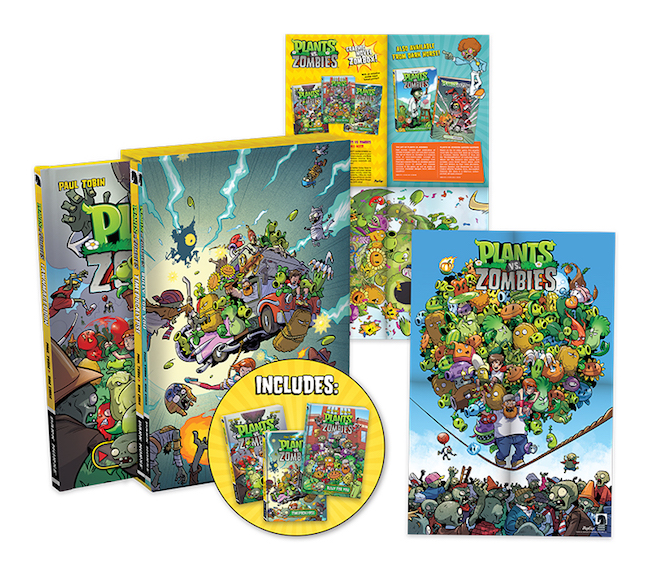 Plants Vs Zombies Boxed Set Coming From Dark Horse Blog