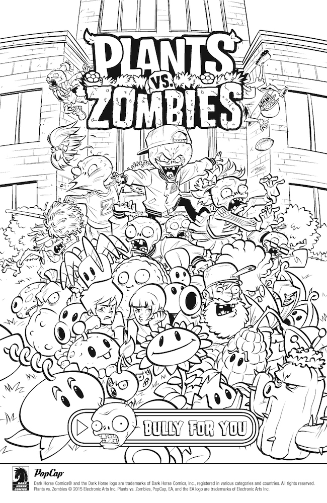 pvz garden warfare coloring pages - photo#30