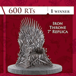 Game of Thrones RT to Win Sweepstakes