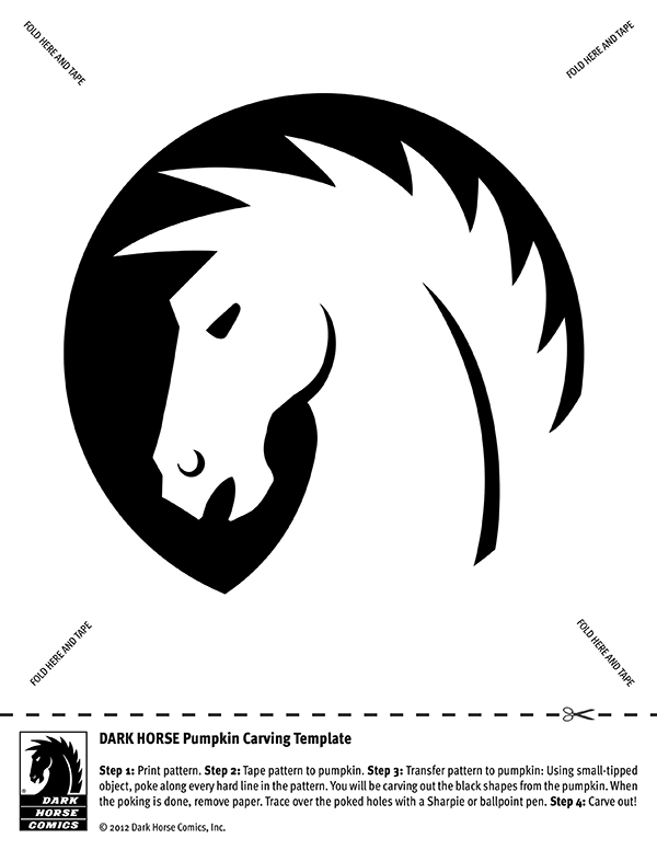 Jack O\'Lantern Carving Templates :: Blog :: Dark Horse Comics
