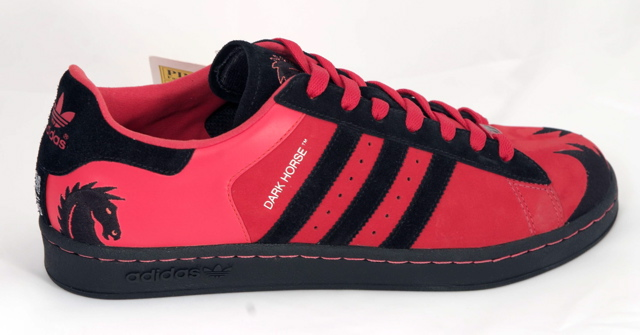 Limited Edition Dark Horse Comics adidas Shoe and Track