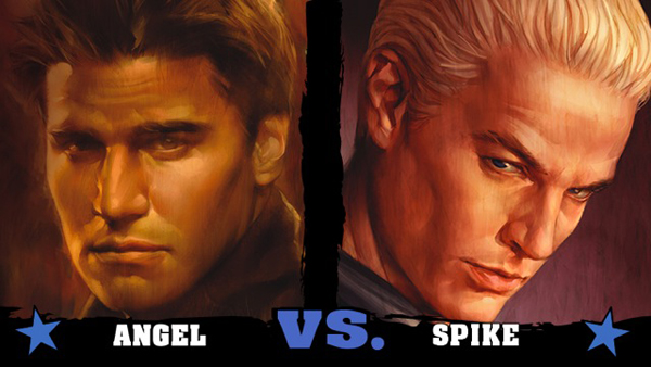 Angel vs Spike: The Results Are In! :: Blog :: Dark Horse ...