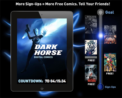 Dark Horse Digital Countdown