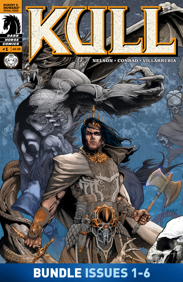 Kull: The Shadow Kingdom #1-#6 Bundle image