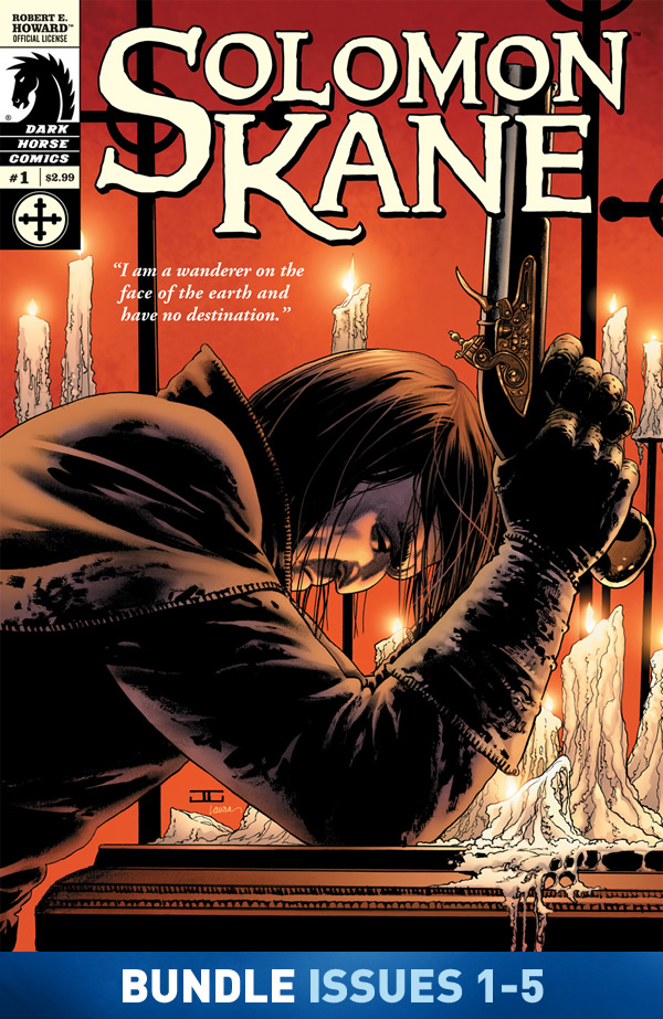 Solomon Kane: The Castle of the Devil #1-#5 Bundle image