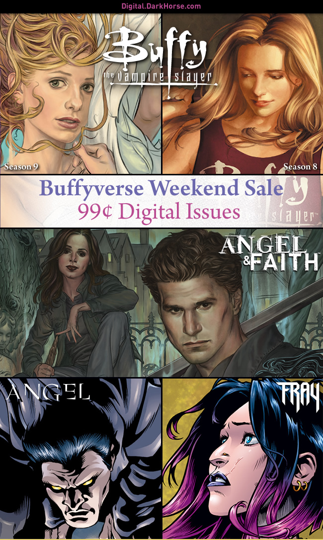 Buffyverse Sale now live